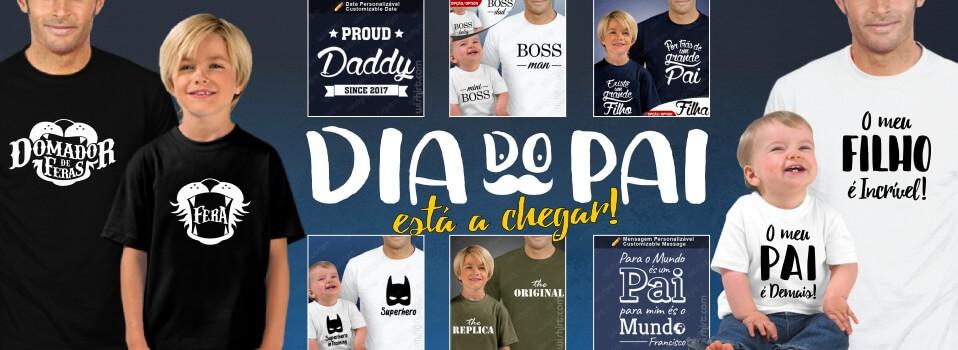 T-shirts Dia do Pai