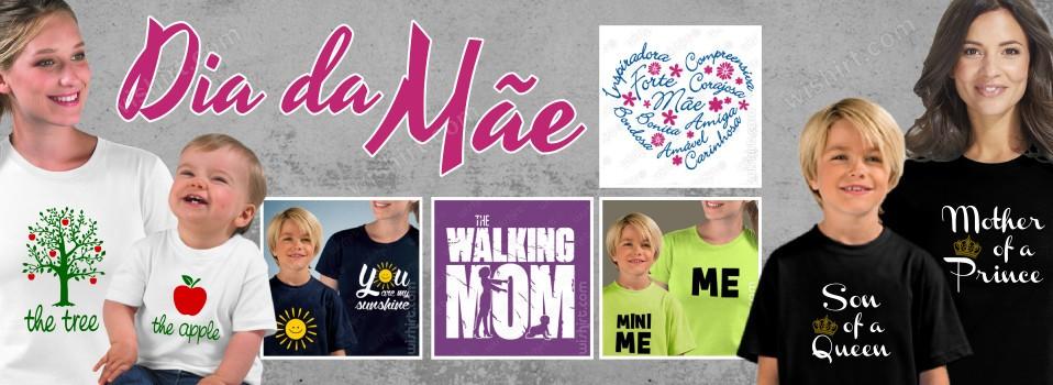 T-shirts Dia da Mãe - Prendas para Mãe