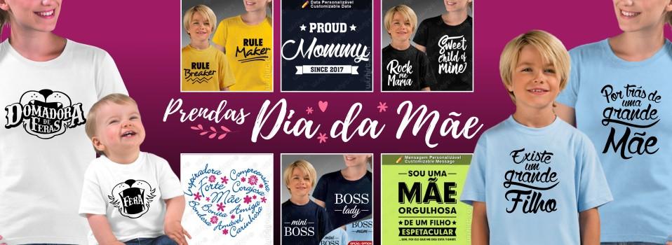 T-shirts Dia da Mãe