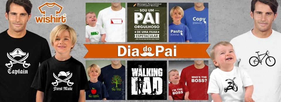 T-shirts Dia do Pai - Prendas para o Pai