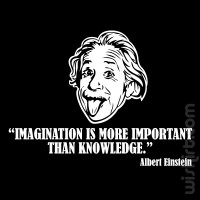 T-shirt Imagination is More