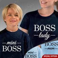 T-shirts Boss Lady Mini Boss Criança