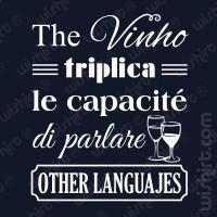 T-shirt The Vinho triplica le capacité