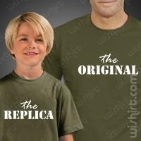 T-shirts The Original The Replica Criança