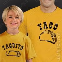 T-shirts Taco Taquito Criança
