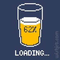 T-shirt Loading Beer