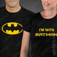 T-shirts I'm with Batman