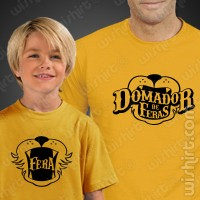 T-shirts Domador de Feras Criança