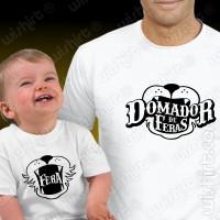 T-shirts Domador de Feras Bebé