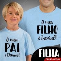 T-shirts Filho é Incrível - Pai é demais Criança