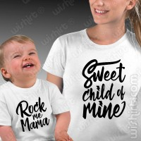 T-shirts Sweet Child of Mine Mãe Bebé