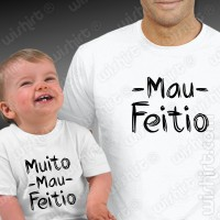 Mau Feitio Father Baby T-shirts