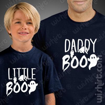 T-shirts a Combinar para Pai e Filho Daddy Boo Little Boo