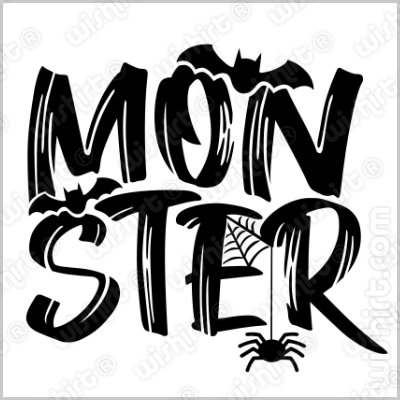 T-shirt Monster para Criança e Bebé - Halloween Edition
