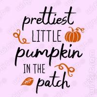 T-shirt Prettiest Little Pumpkin in the Patch