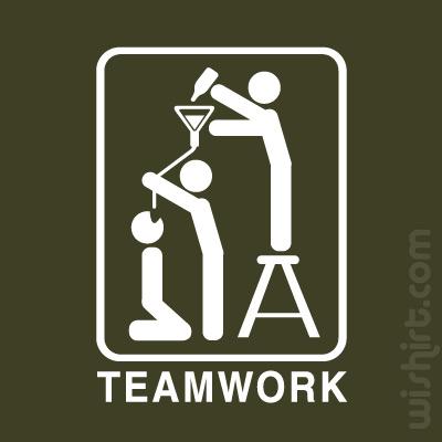 T-shirt Teamwork