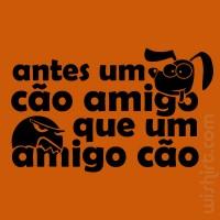 T-shirt Cão Amigo