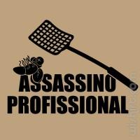 T-shirt Assassino Profissional