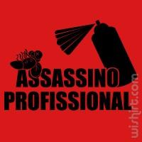 T-shirt Assassino Profissional V2