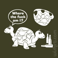 T-shirt Drunk Turtles