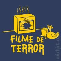 T-shirt Filme de Terror