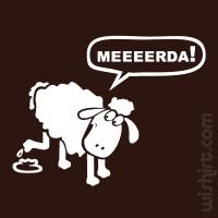 T-shirt Ovelha com a Pata na M...