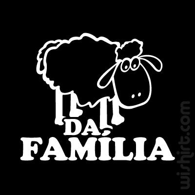 T-shirt Ovelha Negra da Família