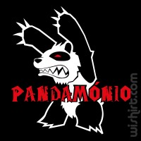 T-shirt Pandamónio