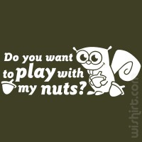 T-shirt Play with my Nuts
