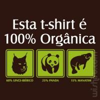 T-shirt 100% Orgânica