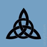 T-shirt Símbolo Celta