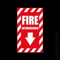T-shirt Fire Extinguisher