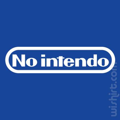 T-shirt No Intendo