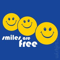 T-shirt Smiles are Free