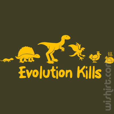 T-shirt Evolution Kills