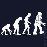 T-shirt Robot Evolution