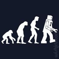 T-shirt Robot Evolution