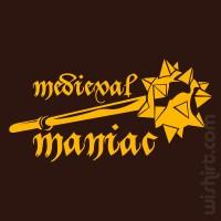 T-shirt Medieval Maniac