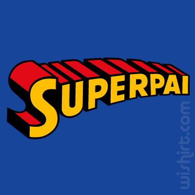 T-shirt Super Pai, Superman