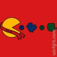T-shirt Pacman Benfica
