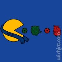 T-shirt Pacman Porto