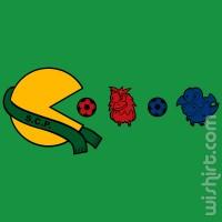 T-shirt Pacman Sporting