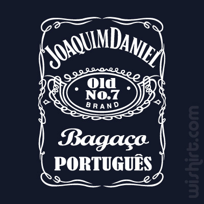T-shirt Joaquim Daniel, Bagaço Português
