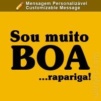 T-shirt Sou Muito Boa...