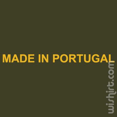 T-shirt Made in Portugal, Feito em Portugal