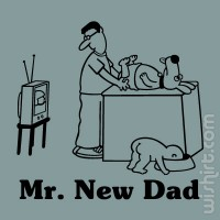 Mr. New Dad T-shirt