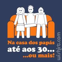 T-shirt Na Casa dos Papás...