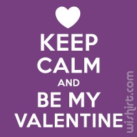 T-shirt Keep Calm... Valentine