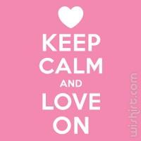 T-shirt Keep Calm and Love On