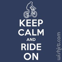 T-shirt Keep Calm and Ride On